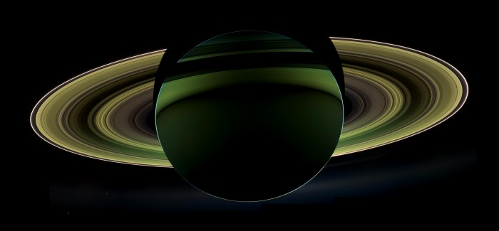 Nightside Saturn