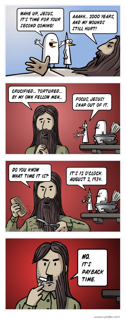 Jesus Hitler Funny Images PULP Jesus HITLER fiction