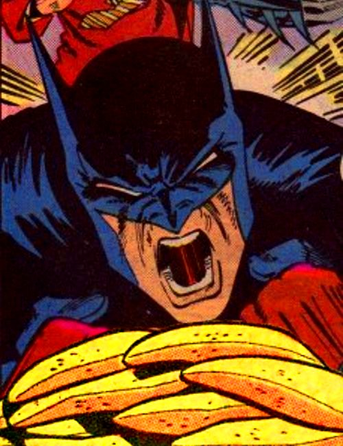 IDontLikeBananas I DONT LIKE BANANAS!!!! rage funny Comic Book batman