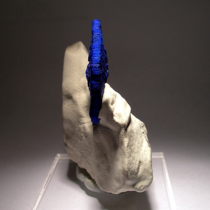 azurite side view 700x700 Azurite cookie science! geology nom minerals interesting blue