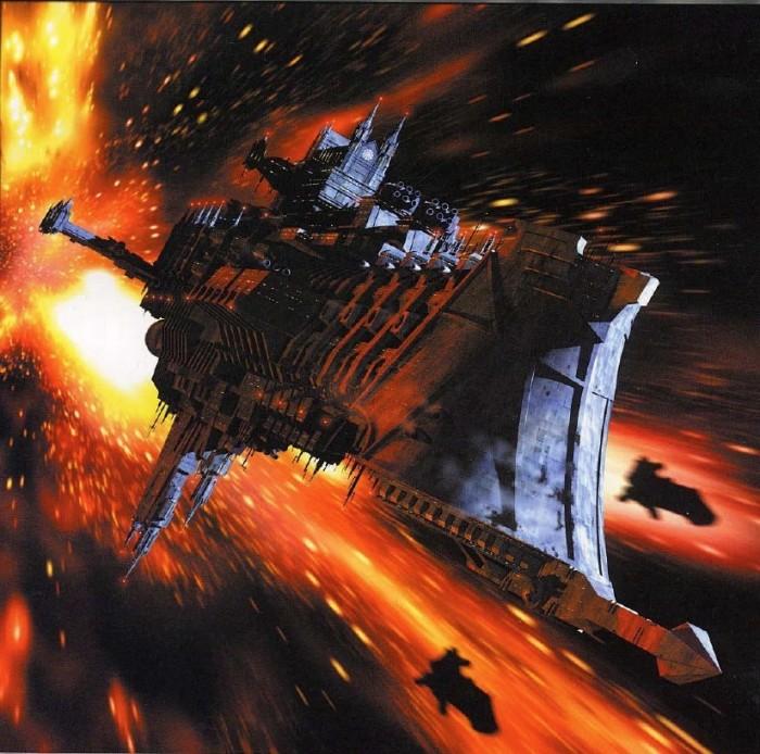 15410384480523355187 700x694 Warhammer ships Warhammer 40k starships spaceship illustration Gaming Art