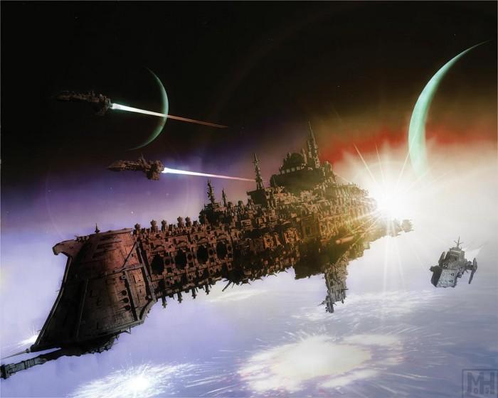 58637051936313733009 700x560 Warhammer ships Warhammer 40k starships spaceship illustration Gaming Art