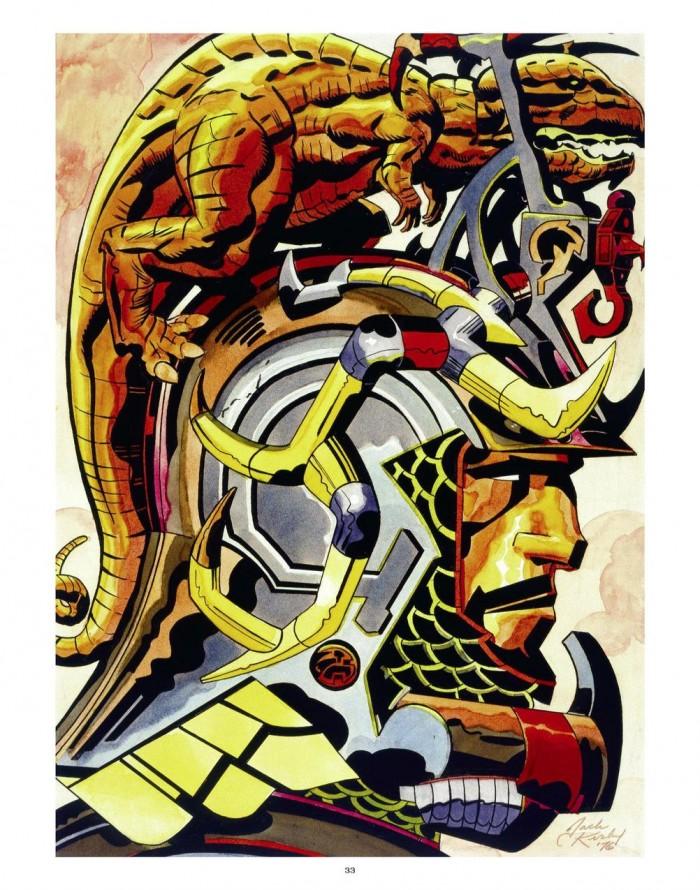 Jack Kirby helmet