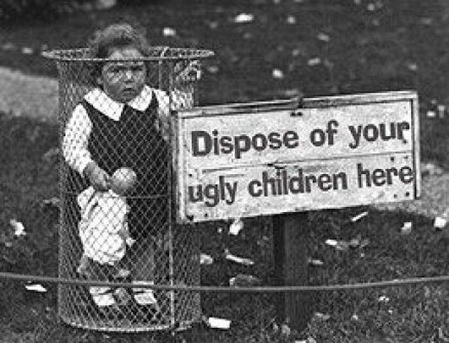 HZzlf Ugly children kids funny Dark Humor