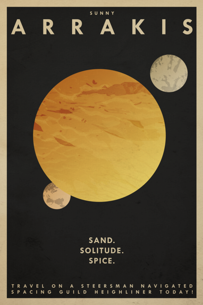 Dune travel posters
