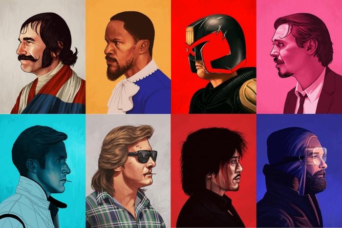 Movie Character Portraits Movie Character Portraits