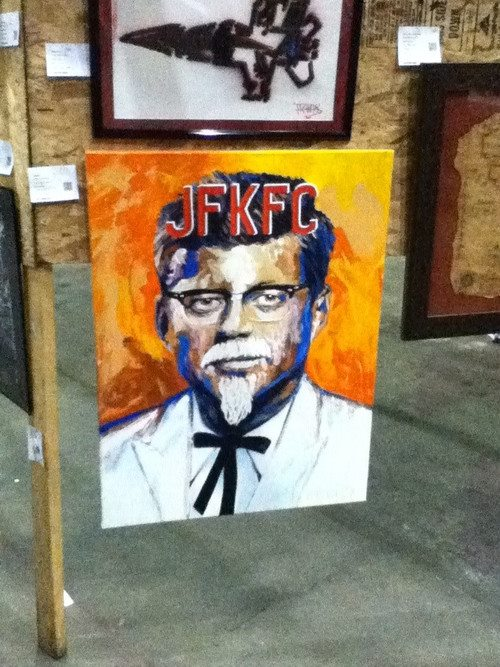 JFKFC JFKFC Visual Tricks signage kfc JFK Humor Art