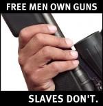 s free men 150x155 Pew Pew guns gun control gun freedom 1984