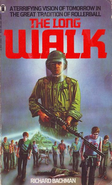 bachmanlongwalk Stephen King stephen king covers Books