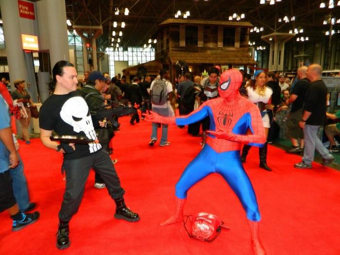 1385601 10153341270400603 1922297049 n 700x525 NYCC 2013 Friday spidey spiderman spider man spider cosplay con comic