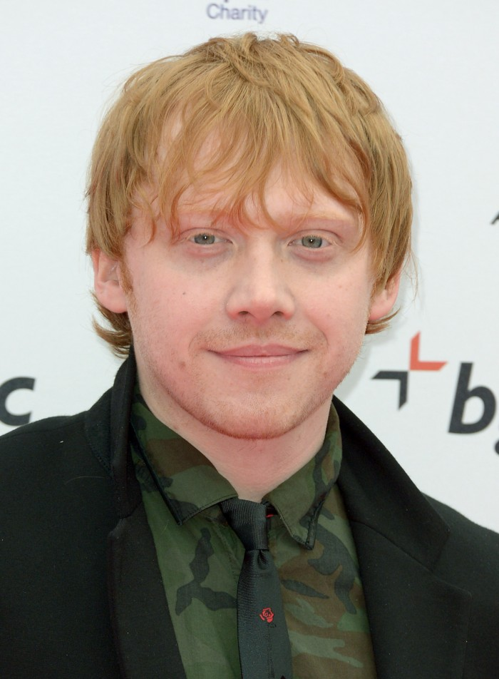 rupert grint feb 2013 700x952 The Men of the Harry Potter Movies movie harry potter actor