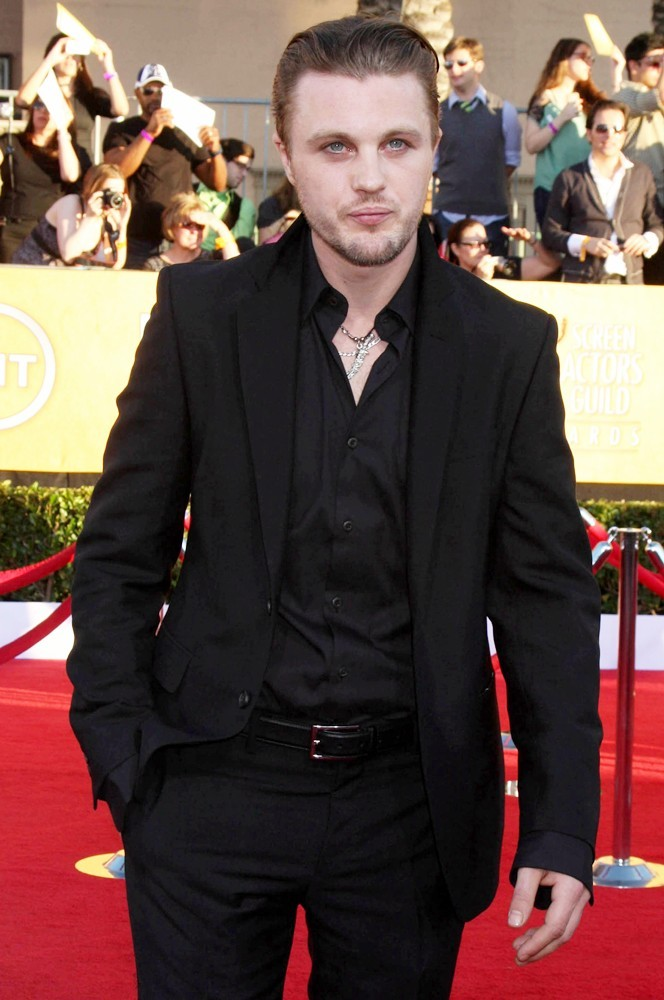 michael pitt 18th annual screen actors guild awards 03 The Men of Boardwalk Empire Tv HBO Boardwalk Empire actor
