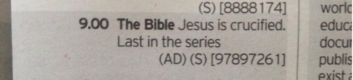 BcHNIP4IAAEArkT 700x159 Pretty sure there's one more episode after this tv shows Religion Jesus