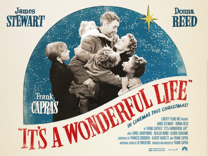 itsawonderfullife email 700x525 Its a Wonderful Life movie poster James Stewart Its a Wonderful Life Frank Capra