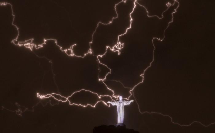 original 700x433 Behold the power of The Emperor.... I mean Jesus Religion Lightning Jesus