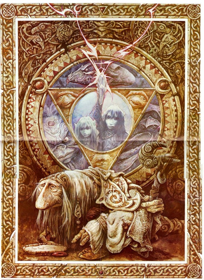 1356643833162 700x960 The Dark Crystal  The Dark Crystal poster movie art Jim Henson Frank Oz 1982