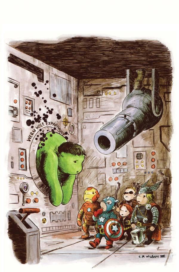 1011209 794700530546252 369212595 n Hulkie the Pooh Winnie the Pooh hulk avengers