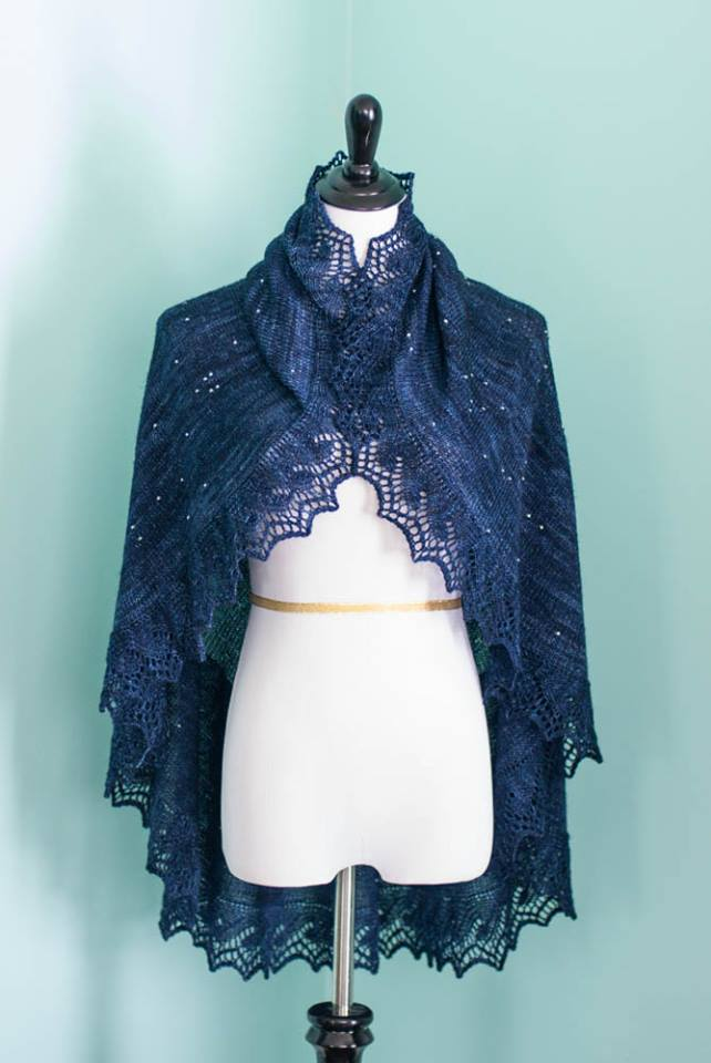 starshawl3 Star shawl interesting fashion clothing astronomy