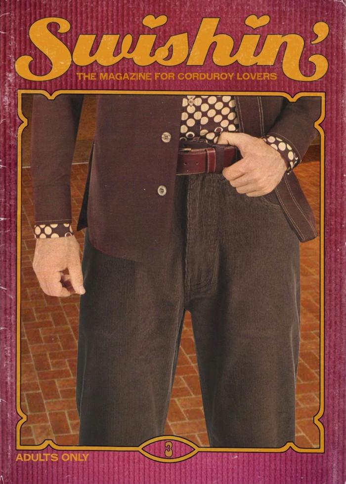 swishin 700x980 Swishin pants magazines fashion corduroy clothing adults only