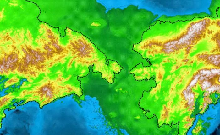 beringia 700x432 Beringia siberia maps land bridge ice age climate change alaska