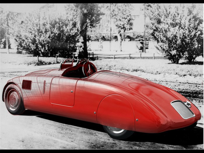 1938 Zagato Lancia Aprilia Sport 1938 Zagato Aprilia Sport wtf vintage transportation sports car red race car interesting Cars car awesome automobile 1938 Zagato Aprilia Sport
