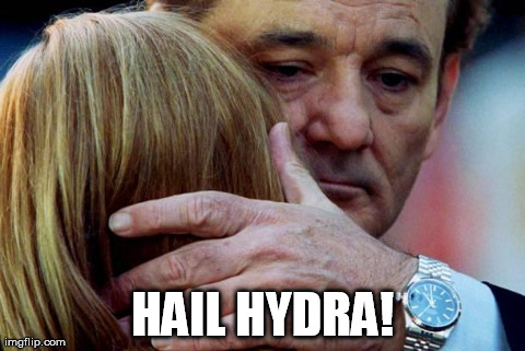 HH1 Hail Hydra Scarlett Johansson marvel hydra Don Knots Bill Murray