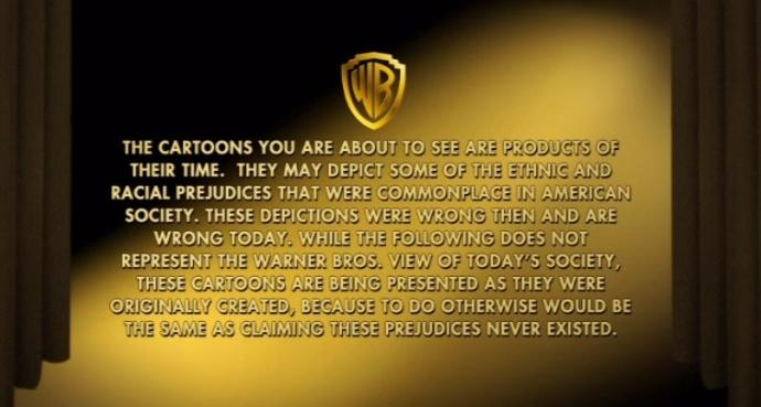 WBdisclaimer WB disclaimer Racism forum fodder do the right thing cartoons