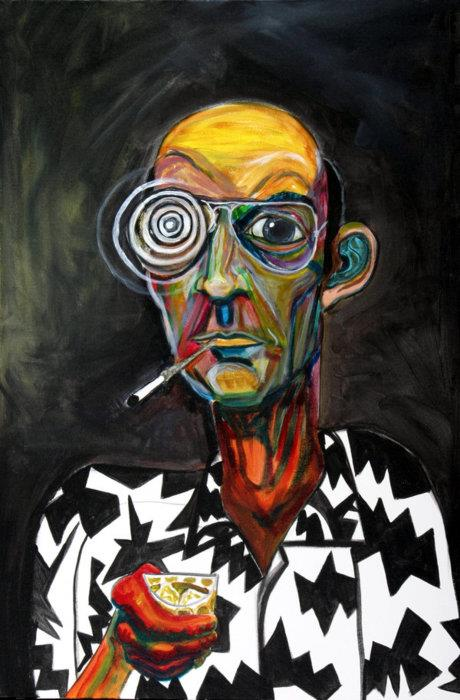 Hunter S Thompson Hunter wtf journalist interesting Hunter S Thompson hunter awesome Art