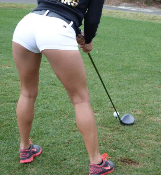HotGirlsOnGolf001 Hot Girls on Golf shorts Sexy NSFW not exactly safe for work golf girl