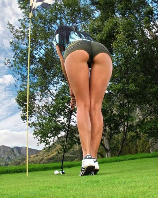 HotGirlsOnGolf004 Hot Girls on Golf shorts Sexy NSFW not exactly safe for work golf girl