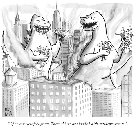 great Feeling great New Yorker cartoons
