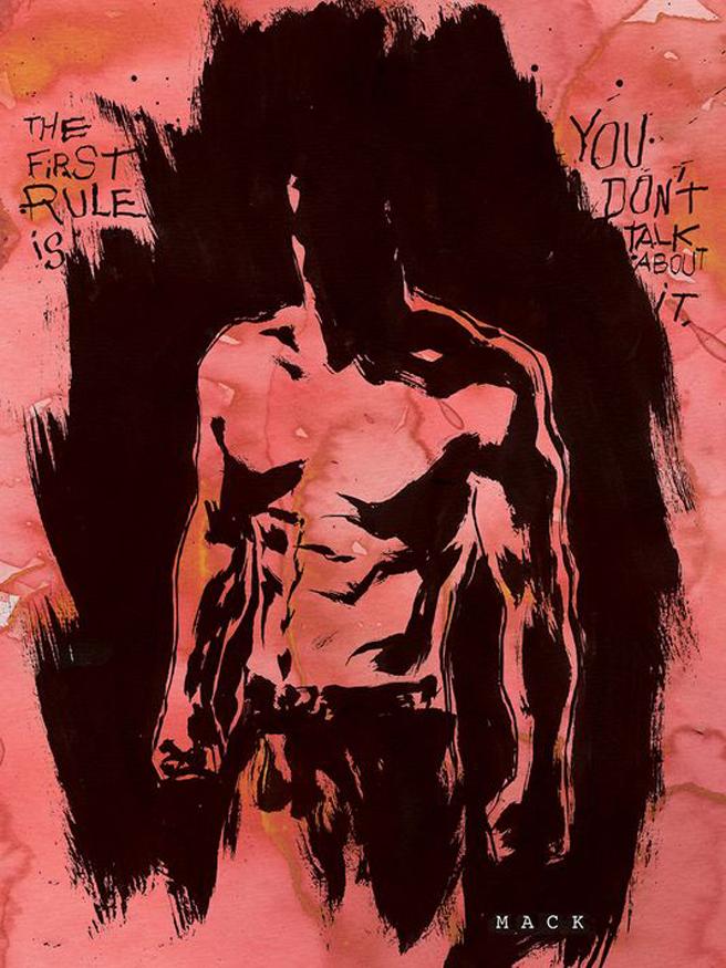 fight cover Fight Club 2 Fight Club 2 Comics Comic Books Chuck Palahniuk