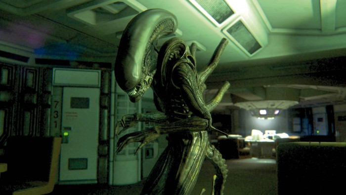 1402788524 7 amp5 700x395 Alien: Isolation Video Games illustration design cgi Art Alien: Isolation