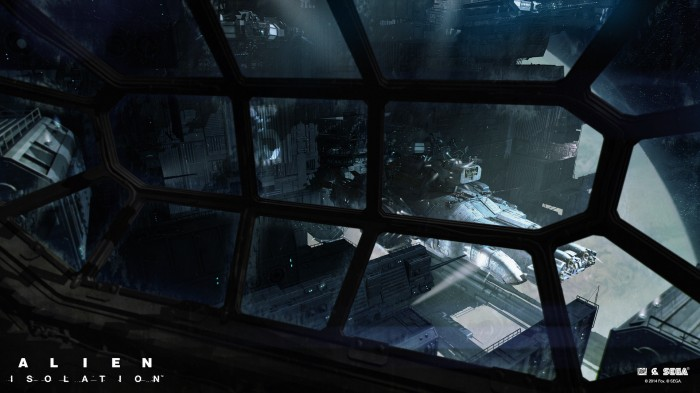AlienIsolationWallpaper 3 700x393 Alien: Isolation Video Games illustration design cgi Art Alien: Isolation