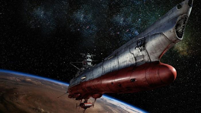 50 700x393 Space Battleship Yamato Space Battleship Yamato movie still cgi