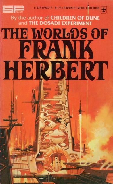 tumblr n937f7cr4w1qks2eao1 500 The Worlds of Frank Herbert  The Worlds of Frank Herbert illustration Book cover Art