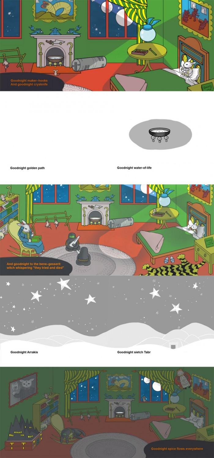pz03 700x1494 Goodnight, Dune scifi Humor children Books