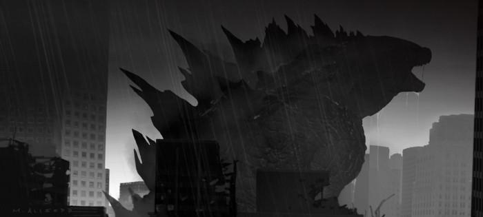 tumblr n6idxuzN0x1qg8i80o6 r1 1280 700x315 Godzilla concept art illustration Godzilla Gareth Edwards concept art Art