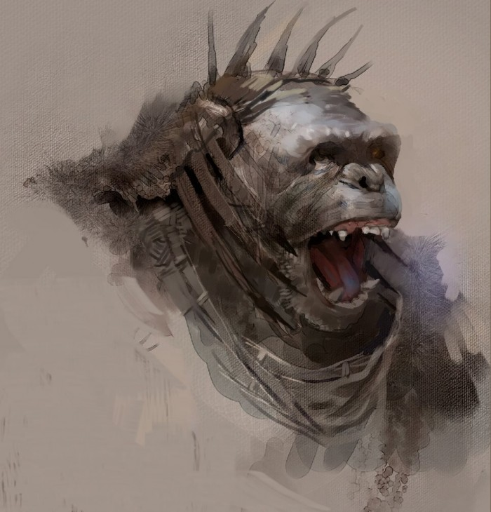 tumblr n959oaCj3C1qccjyio2 1280 700x730 Dawn of the Planet of the Apes concept art Matt Reeves Dawn of the Planet of the Apes concept art Andy Serkis
