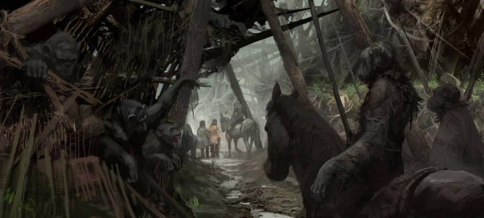 tumblr n959oaCj3C1qccjyio5 1280 700x315 Dawn of the Planet of the Apes concept art Matt Reeves Dawn of the Planet of the Apes concept art Andy Serkis