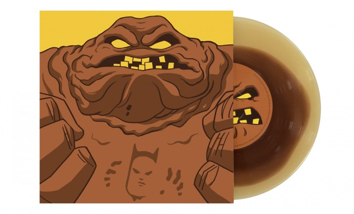 Clayface Album 700x424 Mondos Batman: The Animated Series 7 inch records vinyl Danny Elfman