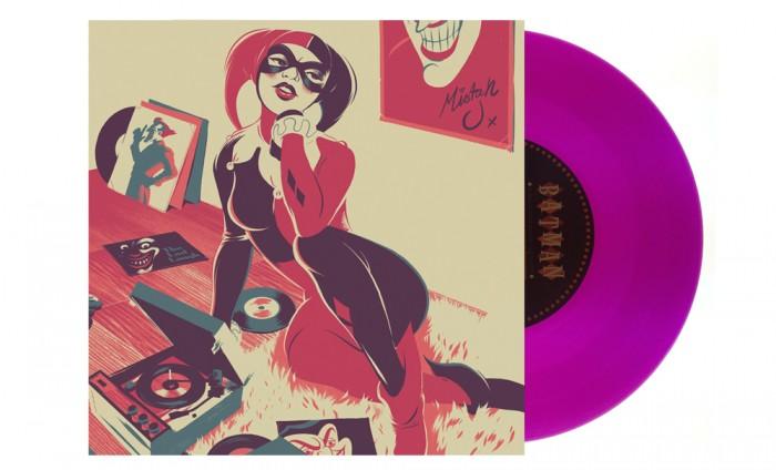 Harley Quinn Album 700x424 Mondos Batman: The Animated Series 7 inch records vinyl Danny Elfman