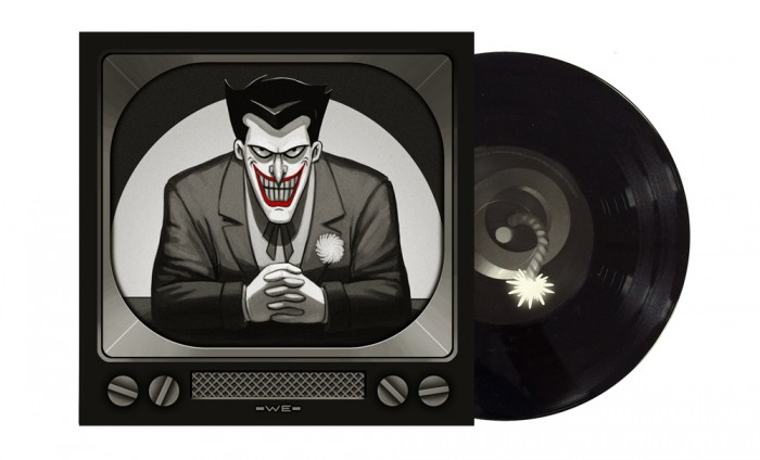 Joker Album 700x424 Mondos Batman: The Animated Series 7 inch records vinyl Danny Elfman