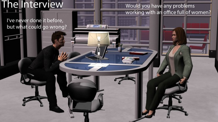 office1 700x393 The Interview Interview Daz3d 3d rendering