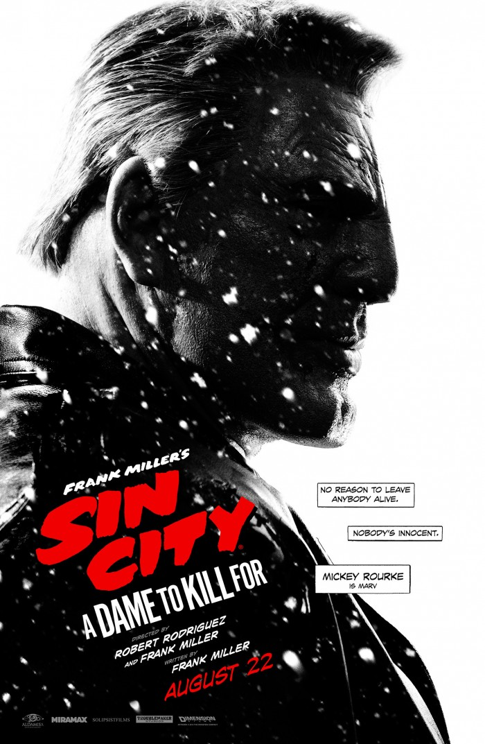 Sin City A Dame to Kill For Comic Con 1 700x1073 Sin City: A Dame to Kill For Sin City: A Dame to Kill For Robert Rodriguez poster movie Frank Miller