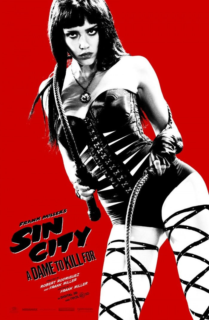 Sin City A Dame to Kill For Comic Con 2 700x1073 Sin City: A Dame to Kill For Sin City: A Dame to Kill For Robert Rodriguez poster movie Frank Miller