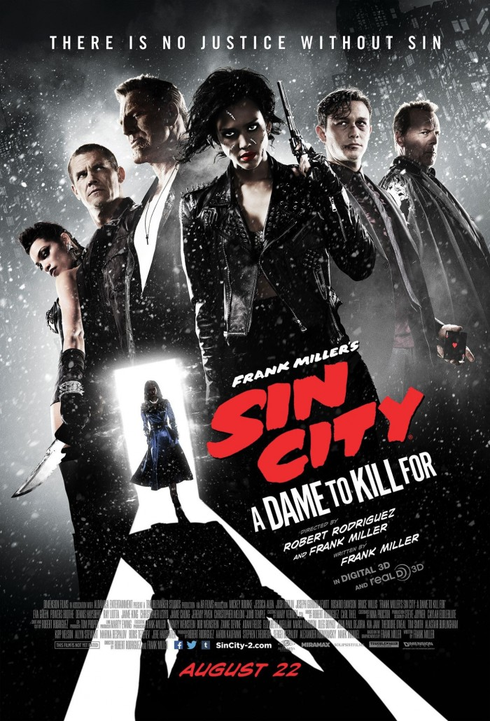 sin city 2 full 700x1031 Sin City: A Dame to Kill For Sin City: A Dame to Kill For Robert Rodriguez poster movie Frank Miller
