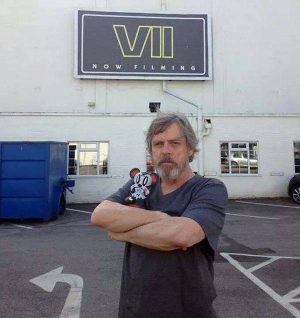 Bu4 wKBCMAAhIP  Jedi Knight Star Wars: Episode 7 star wars Mark Hamill beards