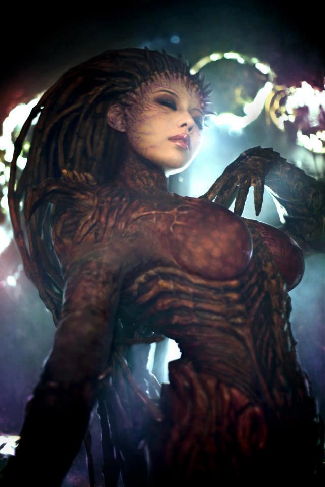 BlizzardStarcraftSarahKerriganZergQueenofBladesCosplayTasha3 The queen of blades 2 starcraft Gaming cosplay