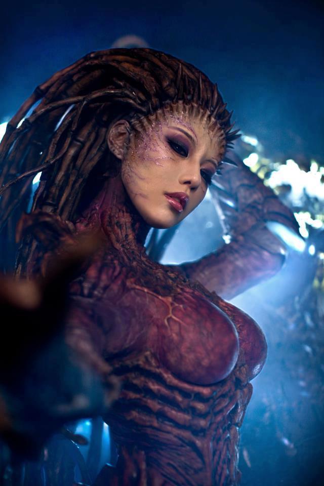 BlizzardStarcraftSarahKerriganZergQueenofBladesCosplayTasha8 The queen of blades 2 starcraft Gaming cosplay